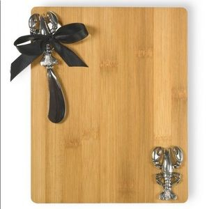 Lobster/Crawfish bamboo cutting board.